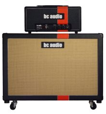 BC Audio boutique guitar tube amp head 25w and 2x12 speaker cab