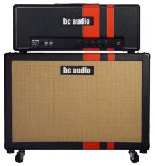 BC Audio boutique guitar tube amp head 45w and 2x12 speaker cab