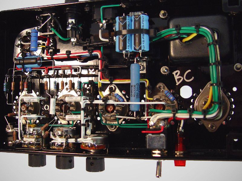 Amplifier No. 8   BC Audio on tube terminals, tube assembly, tube dimensions, tube fuses,